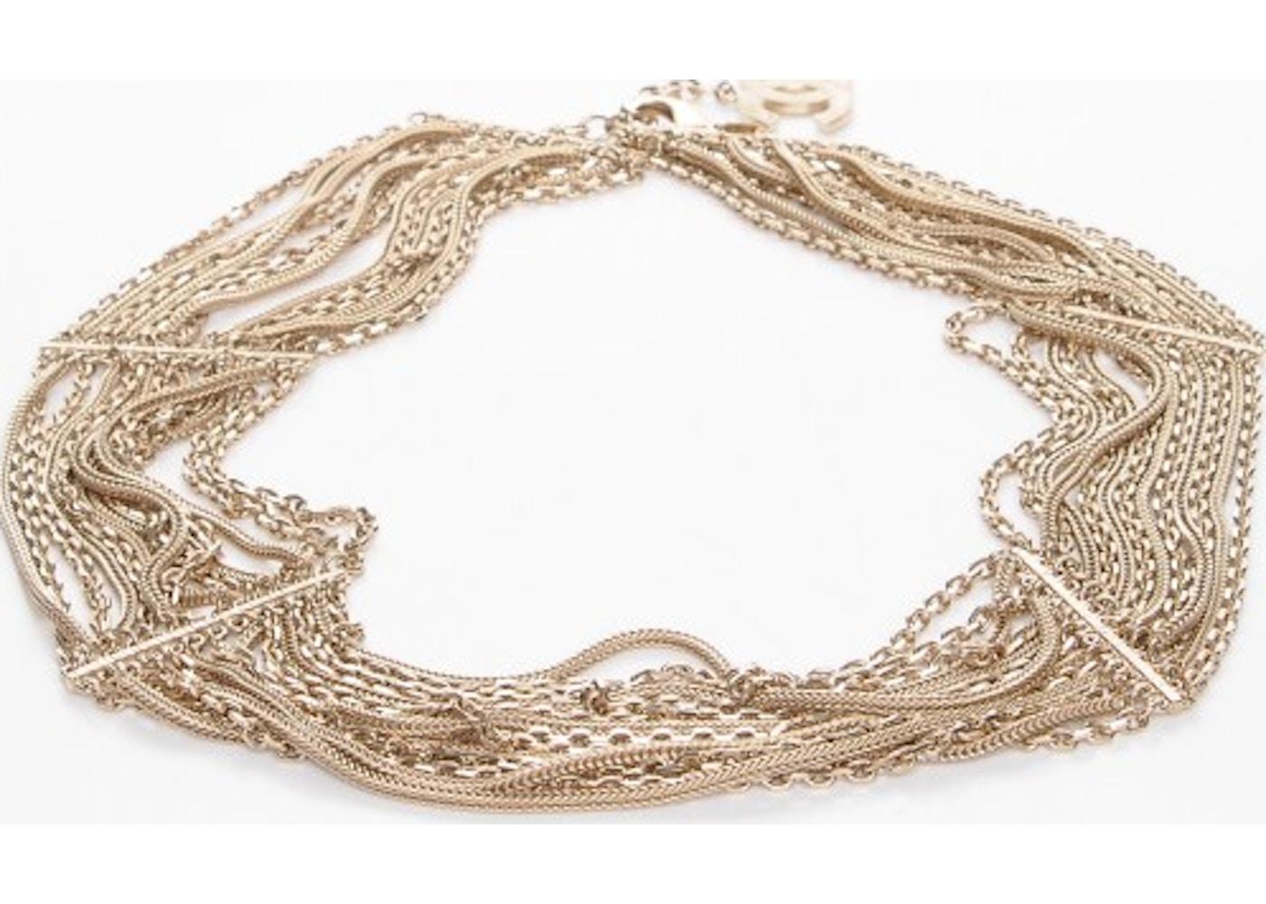 e0084b92f50 Chanel CC Waspie Belt Gold