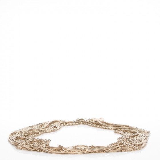 Chanel CC Waspie Belt Gold