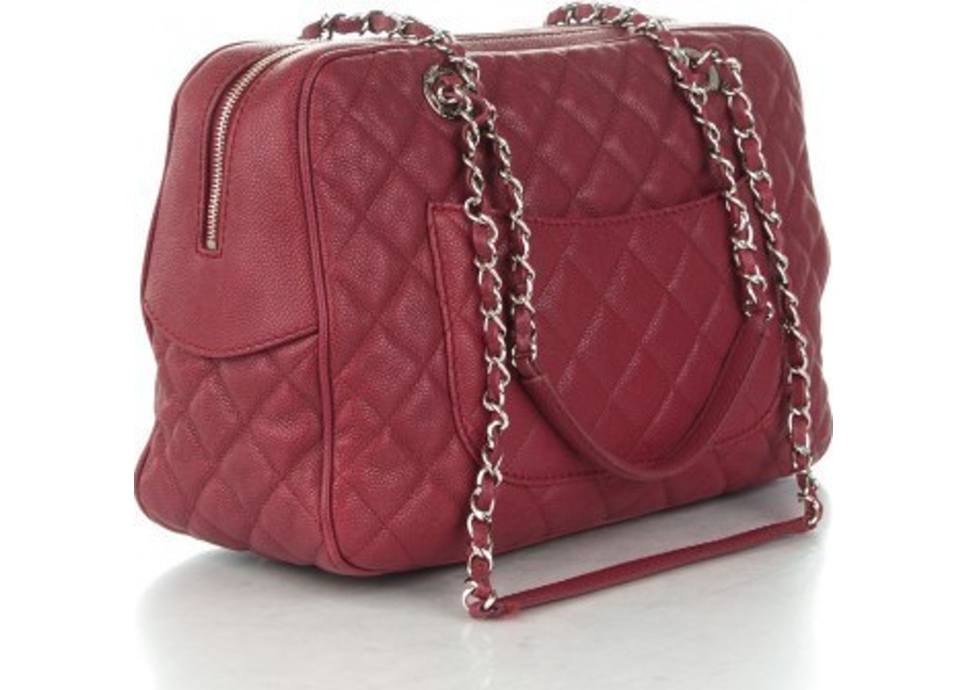 829eb705013212 Chanel Case Camera Bag Quilted Red
