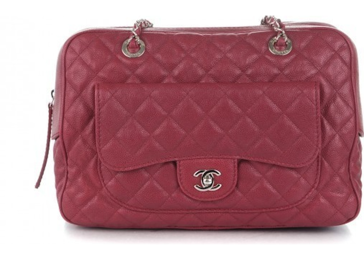 2958bfde5ae8da Chanel Case Camera Bag Quilted Red. Quilted Red