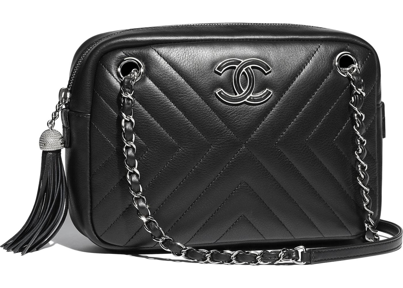7778ebea7e7 Chanel Camera Case Silver-Tone Black. Silver-Tone Black