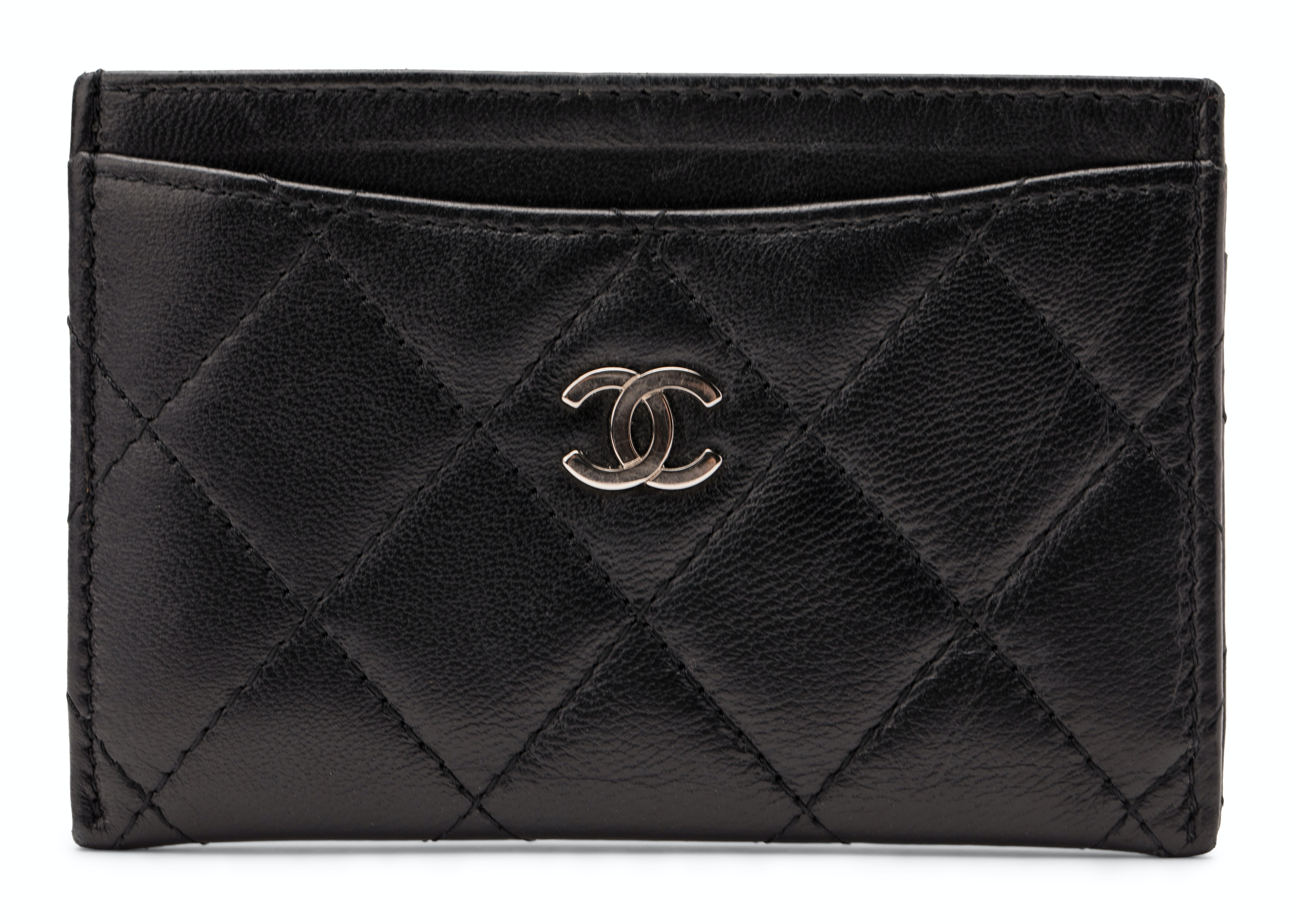 Chanel Card Holder Diamond Quilted