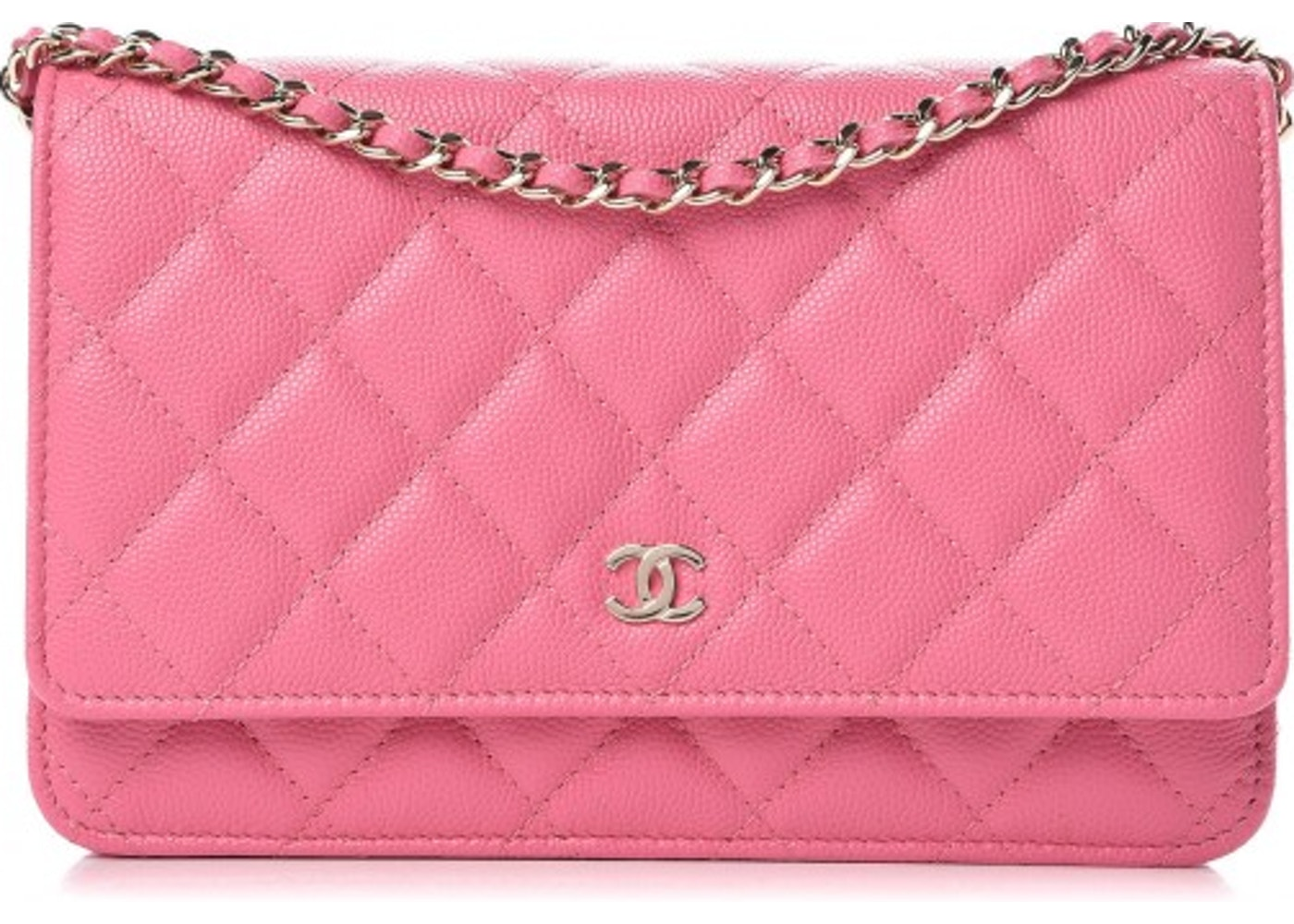 9d731e4c17 Chanel Wallet On Chain Caviar Pink. Caviar Pink