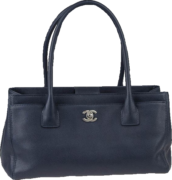 Chanel Cerf Tote Petite Blue