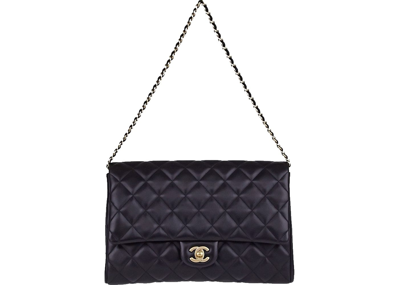 d293f051dd8e Sell. or Ask. View All Bids. Chanel Chain Clutch Classic Single Flap Quilted  Black