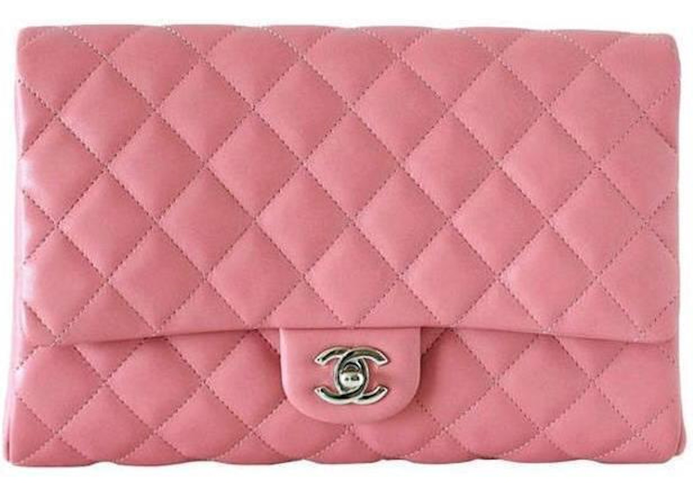 70eac30b761c Sell. or Ask. View All Bids. Chanel Clutch Classic Single Flap Quilted Pink