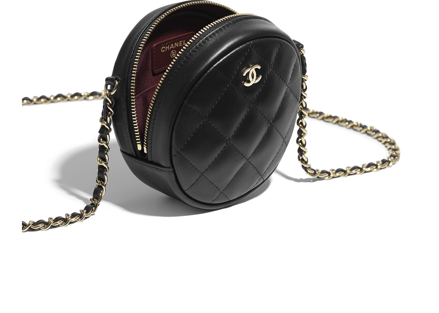 331179cc5e19 Chanel Classic Clutch With Chain Quilted Lambskin Gold-tone Black