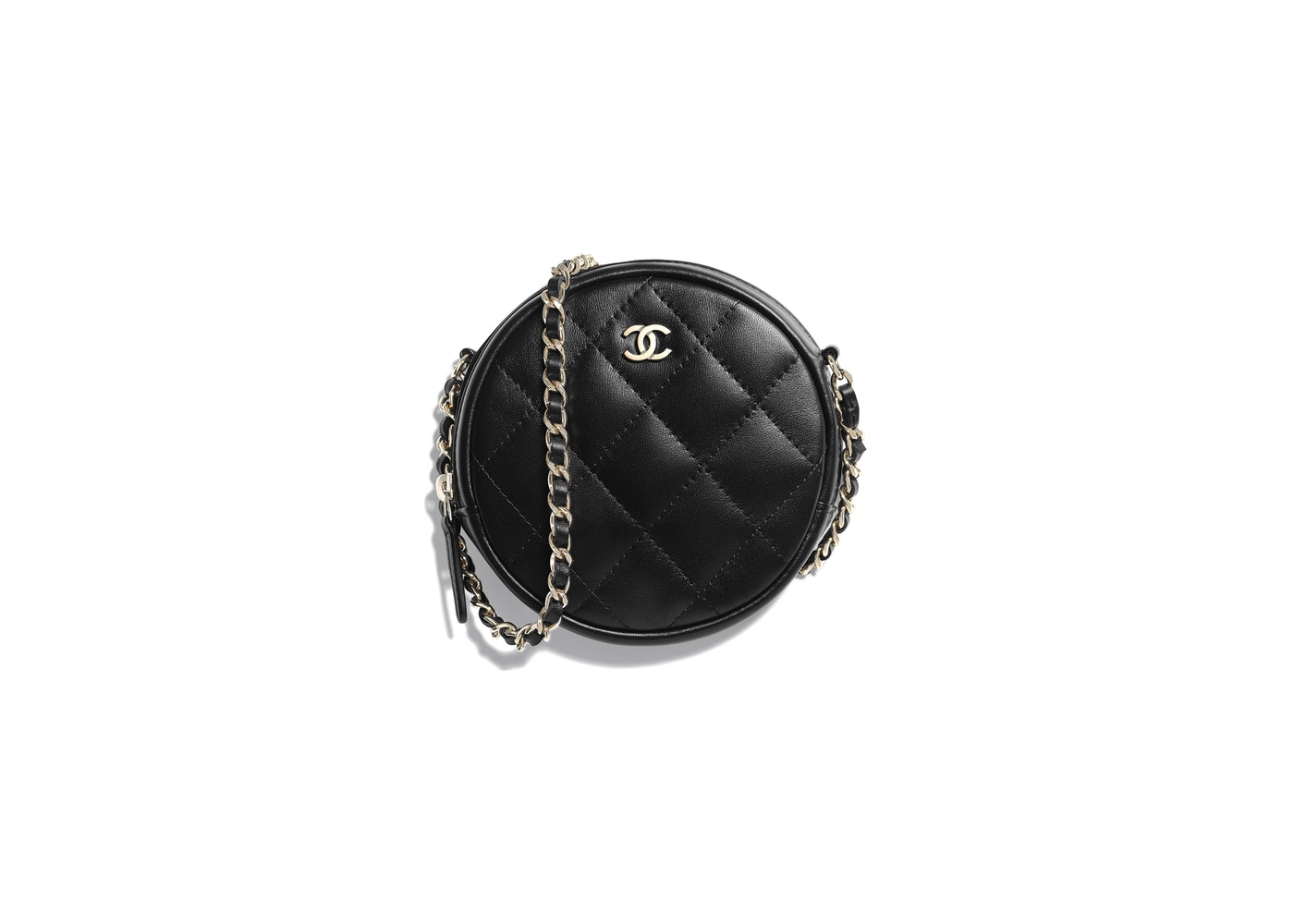 62f183187bbc Chanel Classic Clutch With Chain Quilted Lambskin Gold-tone Black. Quilted  Lambskin Gold-tone Black