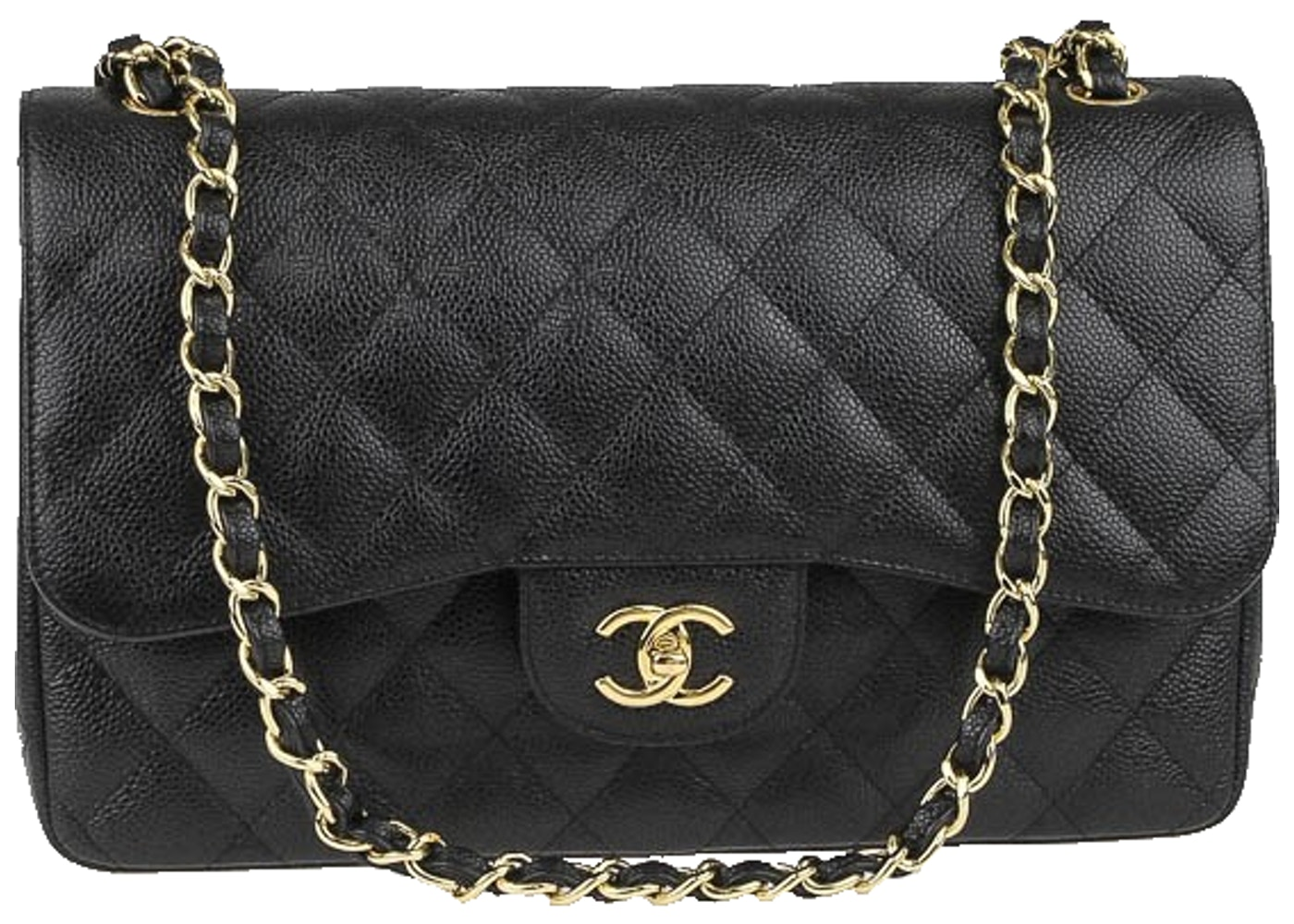 de2ad60c799214 Sell. or Ask. View All Bids. Chanel Classic Double Flap Quilted Jumbo Black