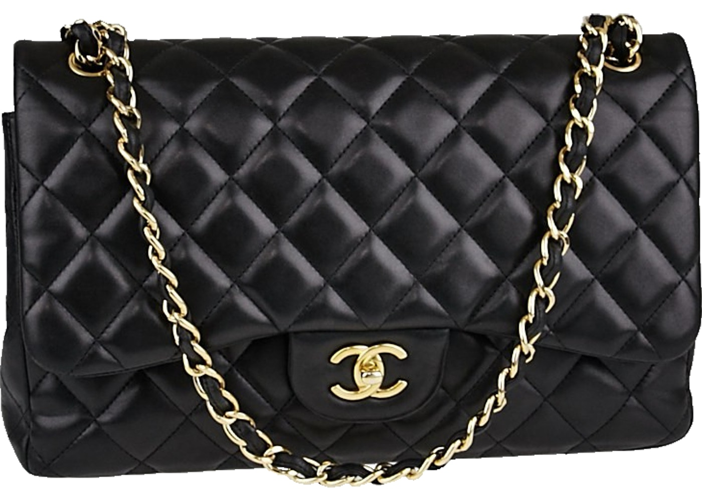 efc9dde6a302 Sell. or Ask. View All Bids. Chanel Classic Double Flap Quilted Jumbo Black