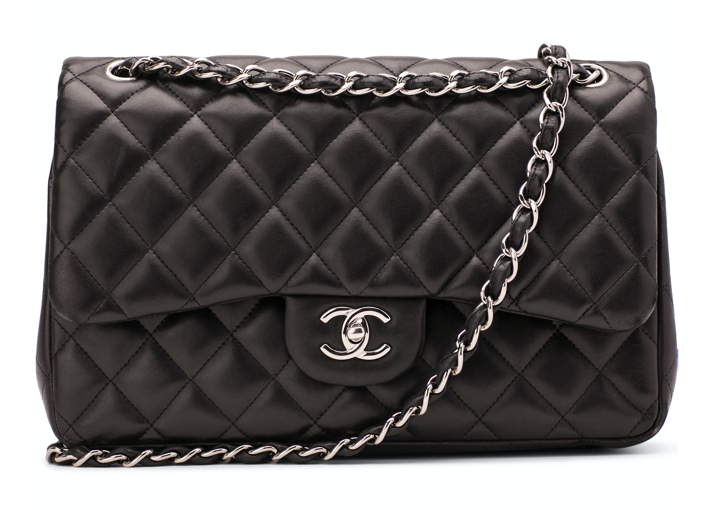 58f318c65d1b Chanel Classic Double Flap Quilted Jumbo Black. Quilted Jumbo Black