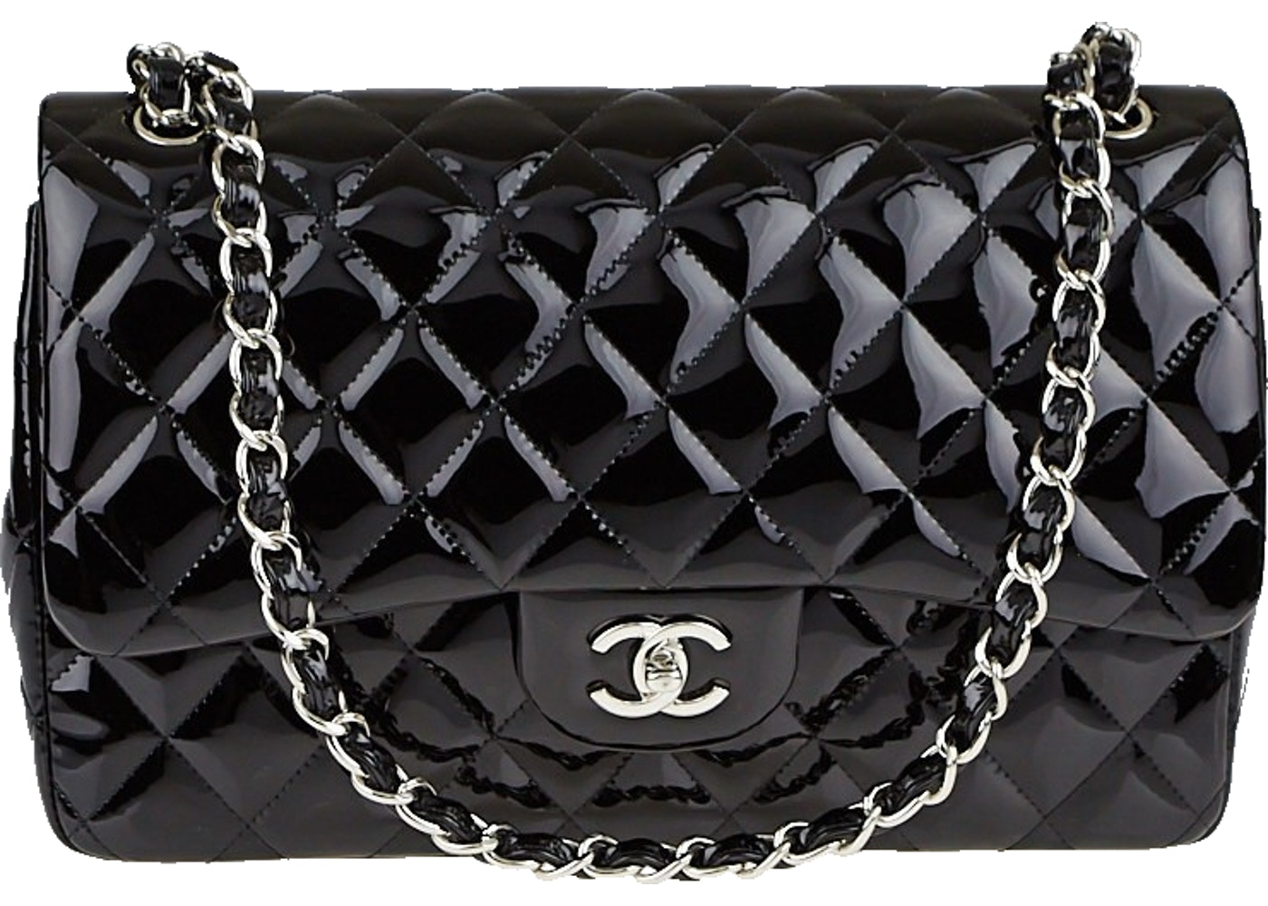 81cc5bf45ad5d4 Chanel Classic Double Flap Quilted Jumbo Black. Quilted Jumbo Black