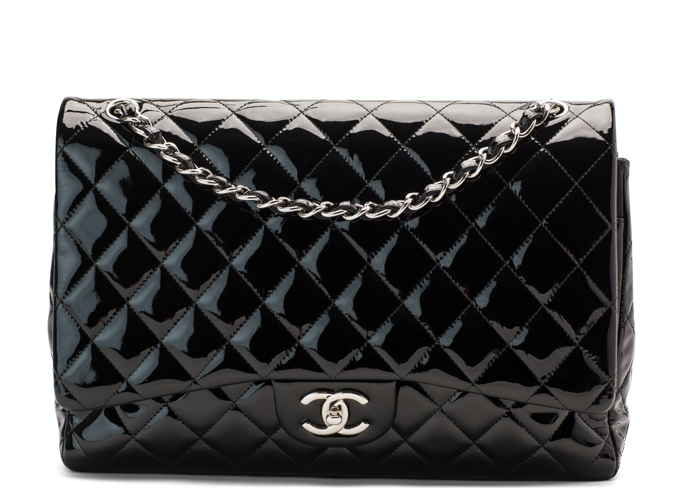 91ac34783cf9 Chanel Classic Double Flap Quilted Maxi Black. Quilted Maxi Black