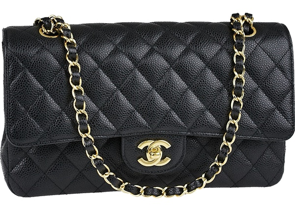 4d642e0c83c9 Chanel Classic Double Flap Quilted Medium Black