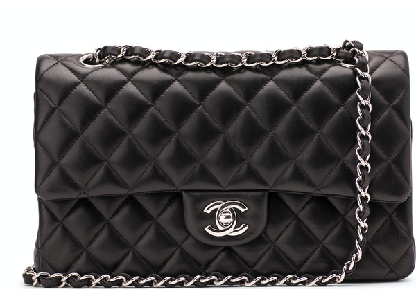 ede1090ca0ef Chanel Classic Double Flap Quilted Medium Black