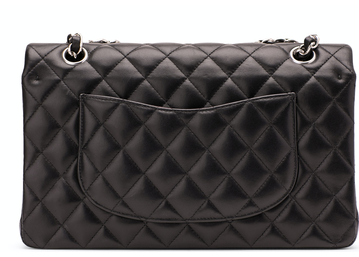 4d642e0c83c9 Chanel Classic Double Flap Quilted Medium Black