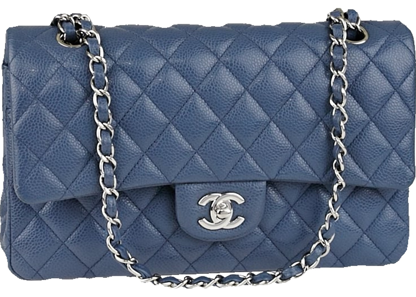 31667dc0a9f Sell. or Ask. View All Bids. Chanel Classic Double Flap Quilted Medium Blue