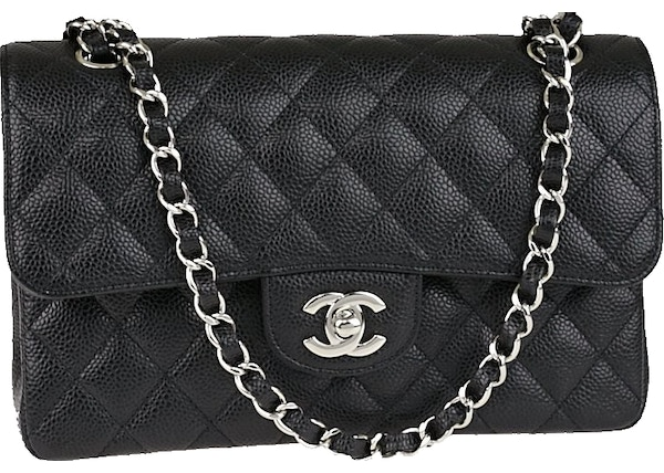 412595c1680ff Chanel Classic Double Flap Quilted Small Black