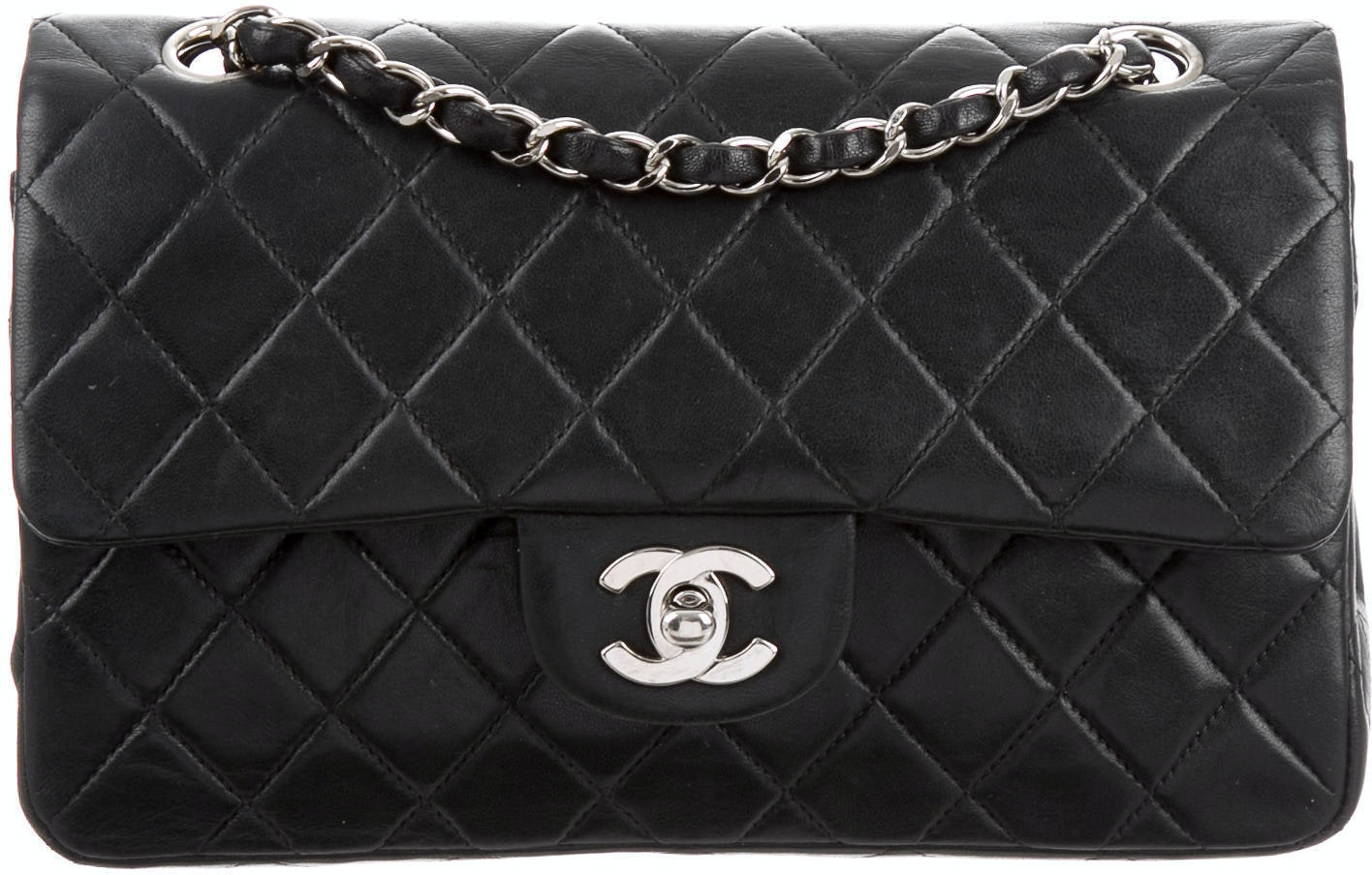 Chanel Classic Double Flap Quilted Small Black