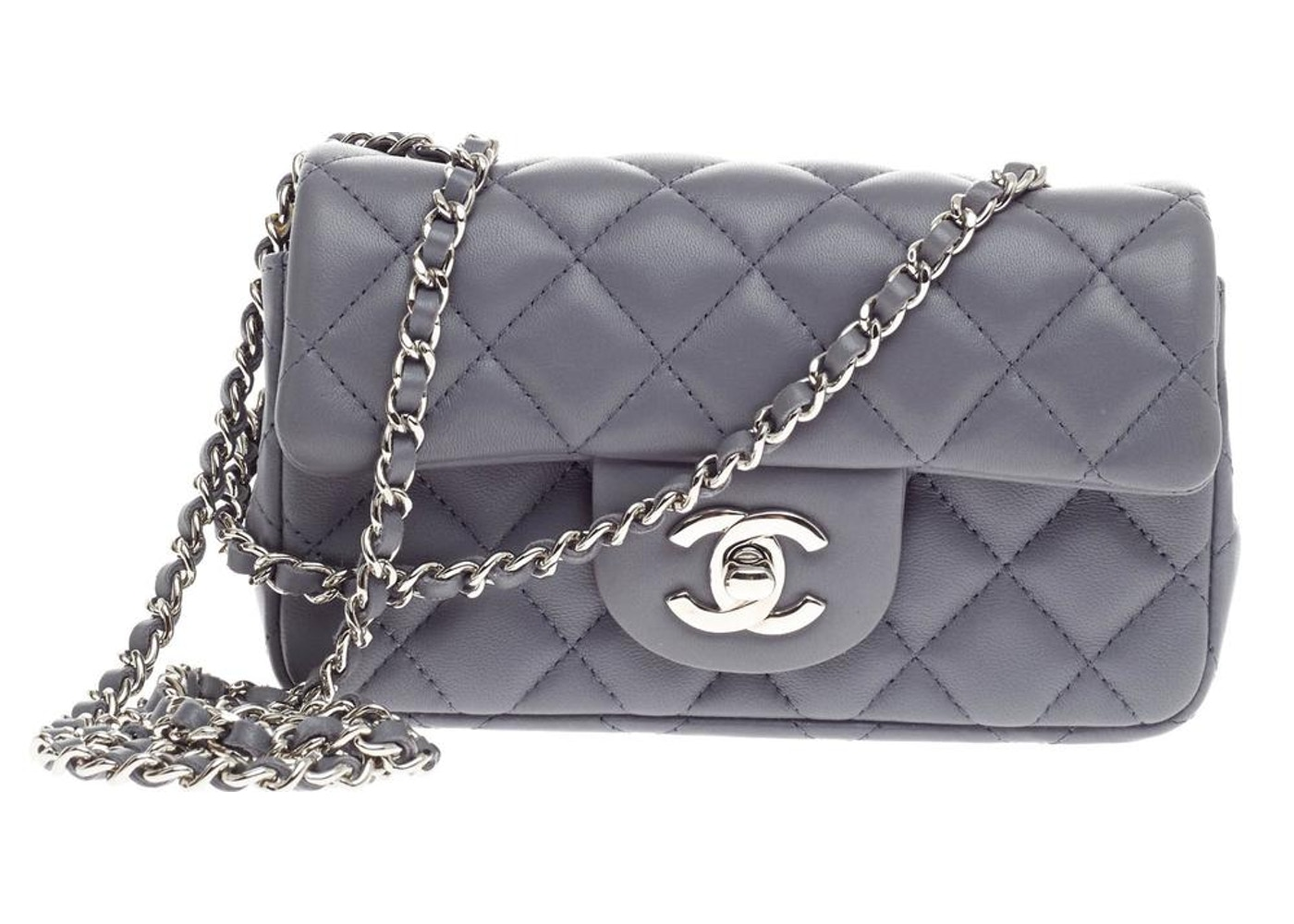 e370243b575a Chanel Classic Single Flap Quilted Extra Mini