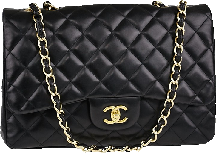 Chanel Classic Single Flap Quilted Jumbo Black