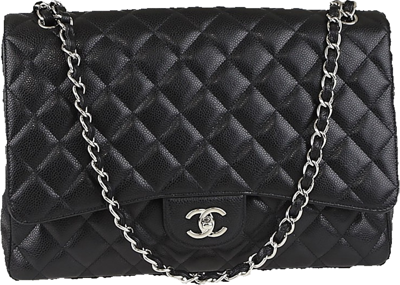 0199eb698fb1 Sell. or Ask. View All Bids. Chanel Classic Single Flap Quilted Maxi Black