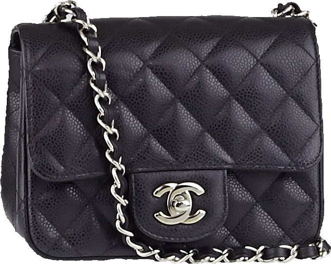 Chanel Classic Single Flap Quilted Mini Black