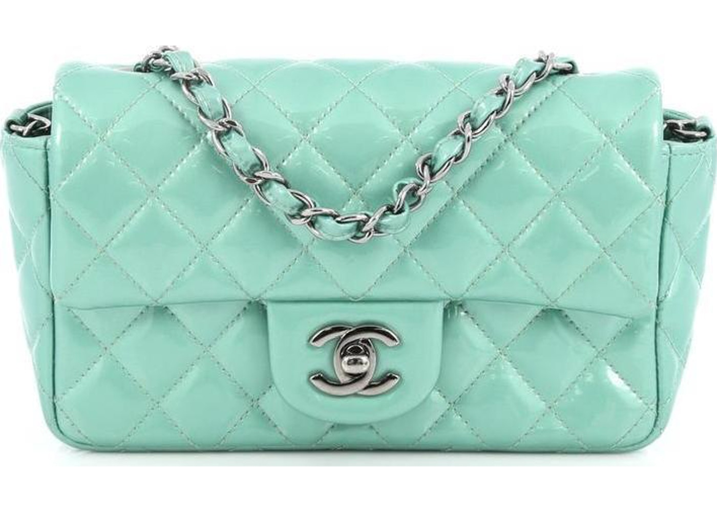 d666bb37ec3a Sell. or Ask. View All Bids. Chanel Classic Single Flap Quilted Mini Mint