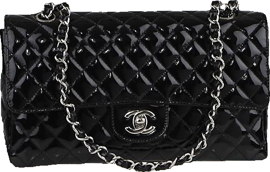 Chanel Classic Single Flap Secret Label Quilted Black
