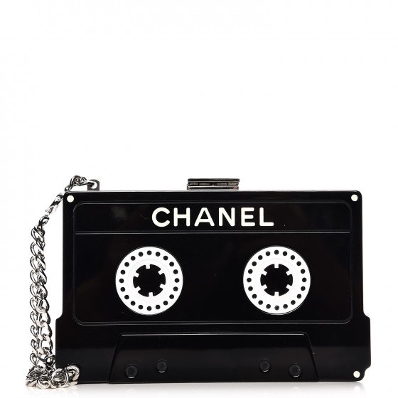 Chanel Cassette Clutch Black