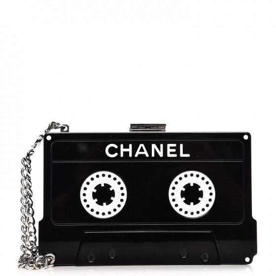 Chanel Cassette Clutch Black