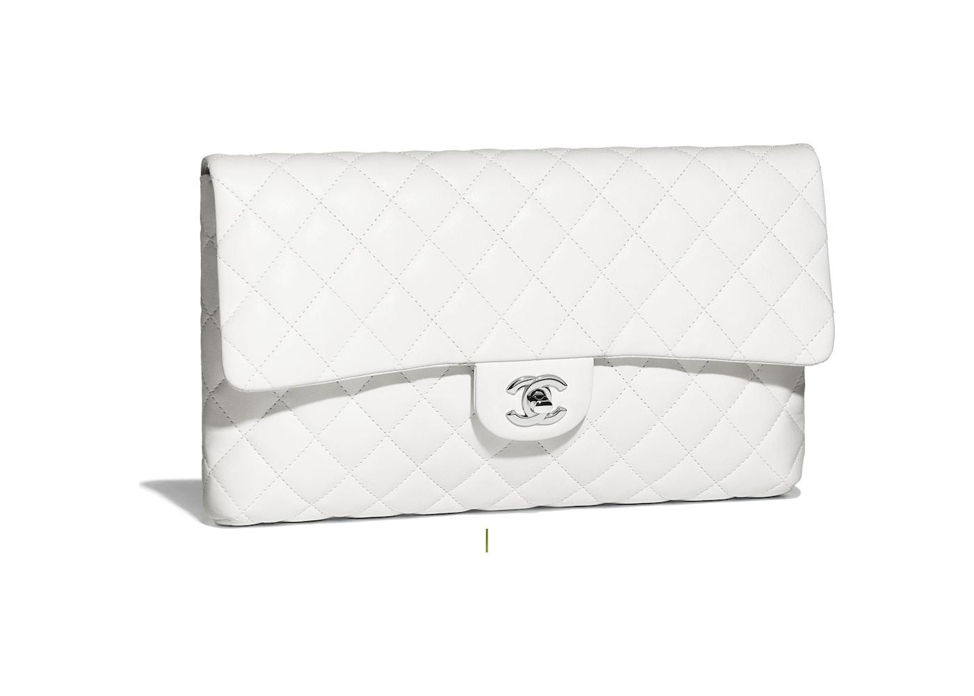 43683c4c722c Chanel Clutch White. White