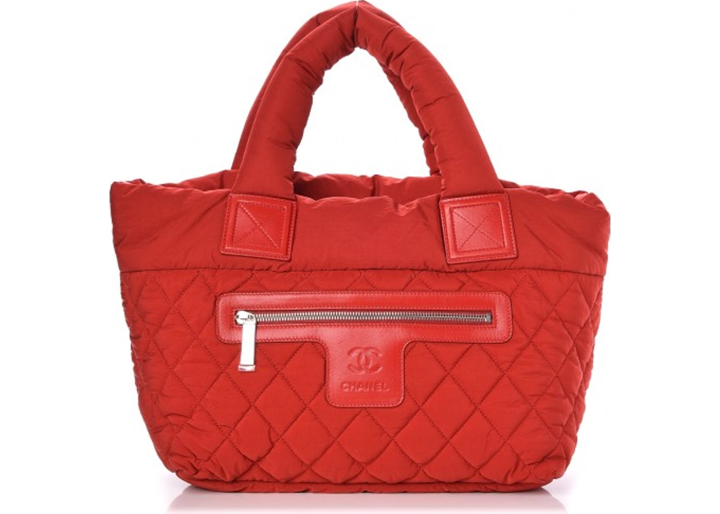 2e19cfe115ef Chanel Coco Cocoon Tote Quilted Diamond Small Red. Quilted Diamond Small Red