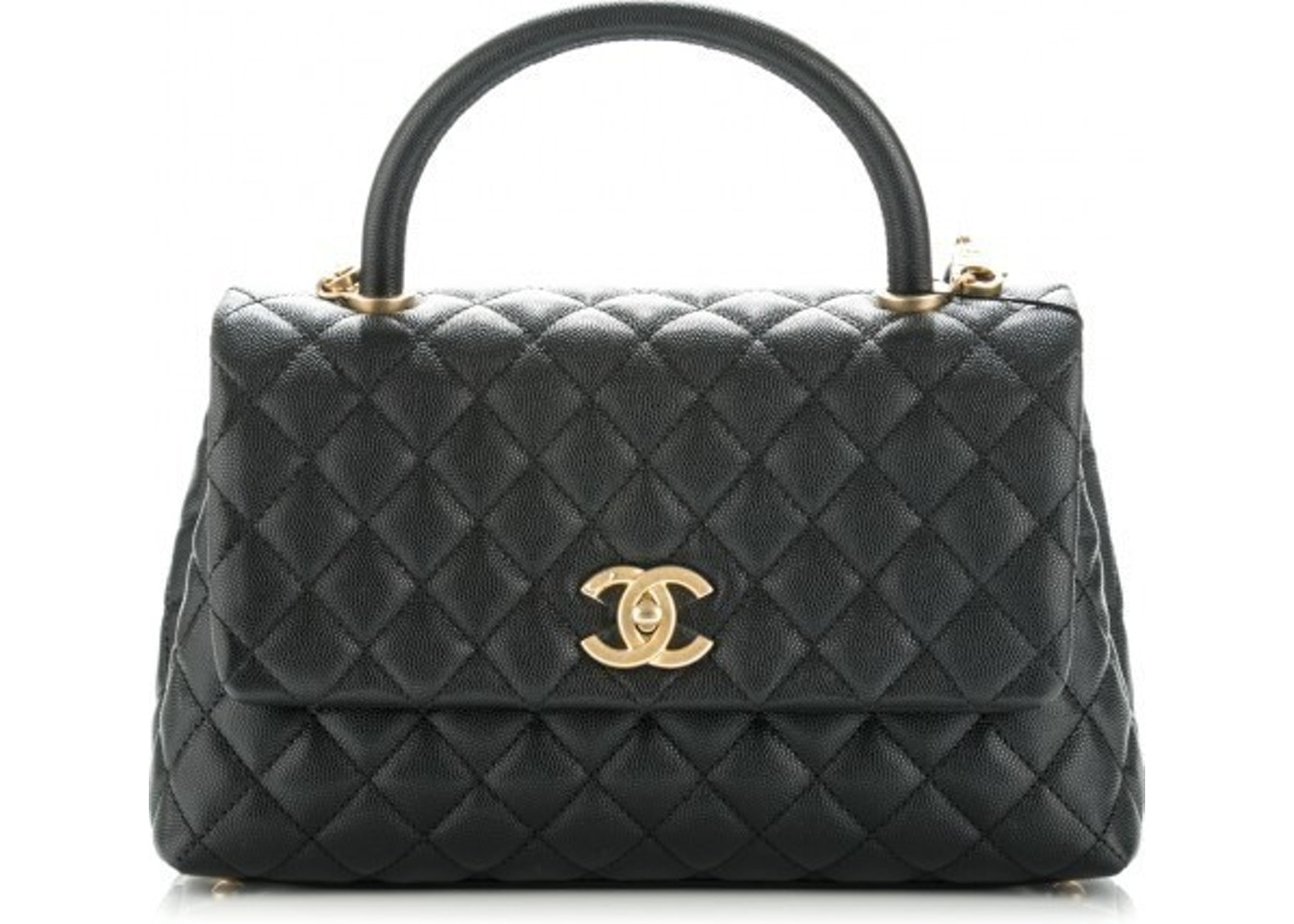 b4cace3aa8a Sell. or Ask. View All Bids. Chanel Coco Handle Bag ...