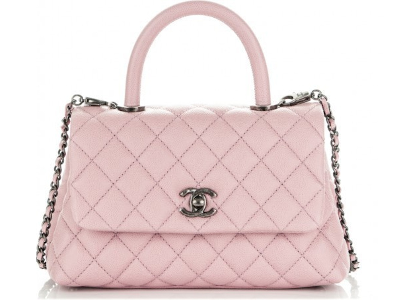 217985f8aaf0 Sell. or Ask. View All Bids. Chanel Coco Handle Flap Quilted Mini ...