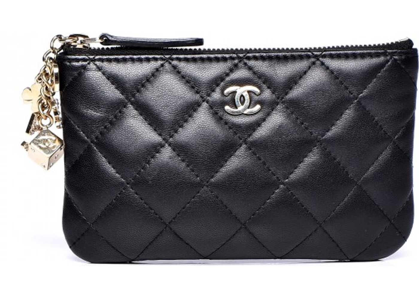 Chanel Casino Cosmetic Case Quilted Diamond Small Black. Quilted Diamond  Small Black 7237fdc3f5794