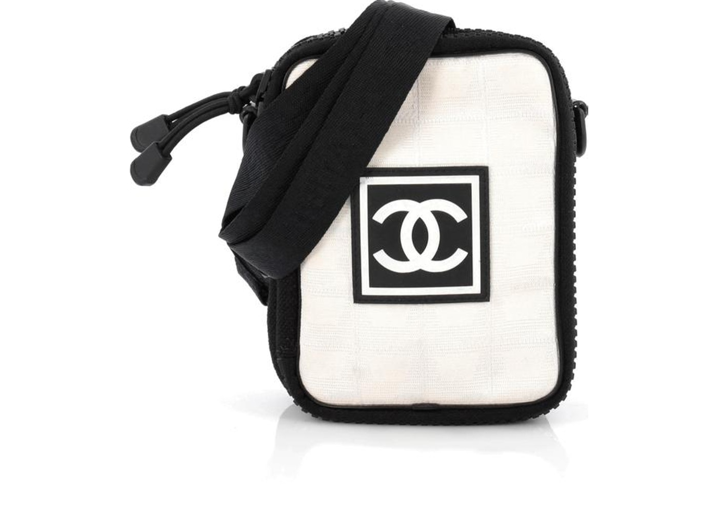 d2e048b35a1c43 Chanel Sport Line Crossbody Bag Mini Black/Off White. Mini Black/Off White