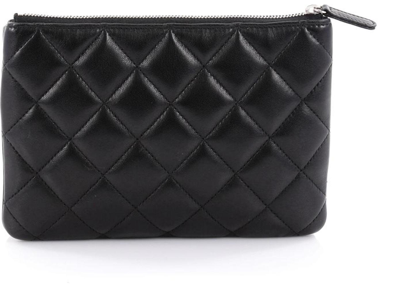 250787d1ecaa Chanel Daily Zippy Crossbody Quilted Diamond Small Black