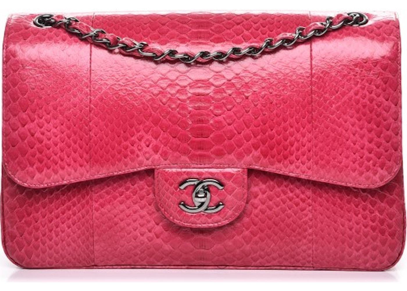 5bf87776696a Chanel Double Flap Jumbo Dark Pink. Jumbo Dark Pink