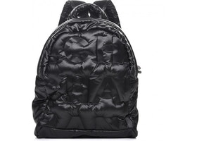 69e0a8a625ce Chanel Doudoune Backpack Embossed Small Black
