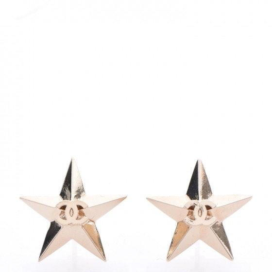 Chanel CC Star Earrings