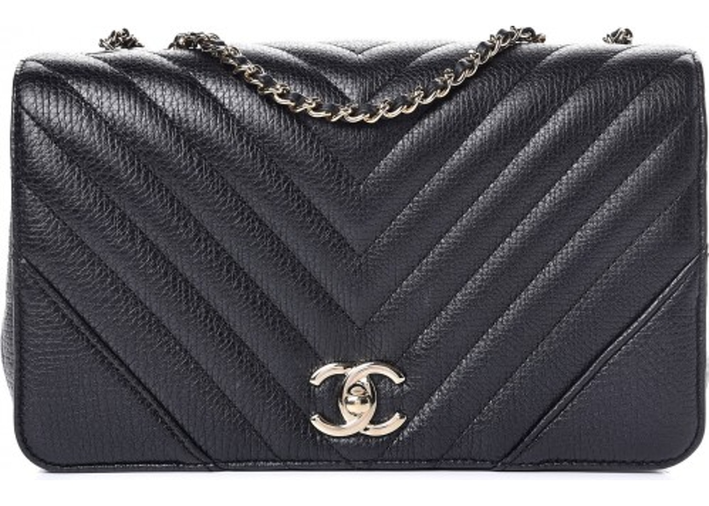 876ab42b816b Chanel Flap Bag Quilted Metallic Small Black