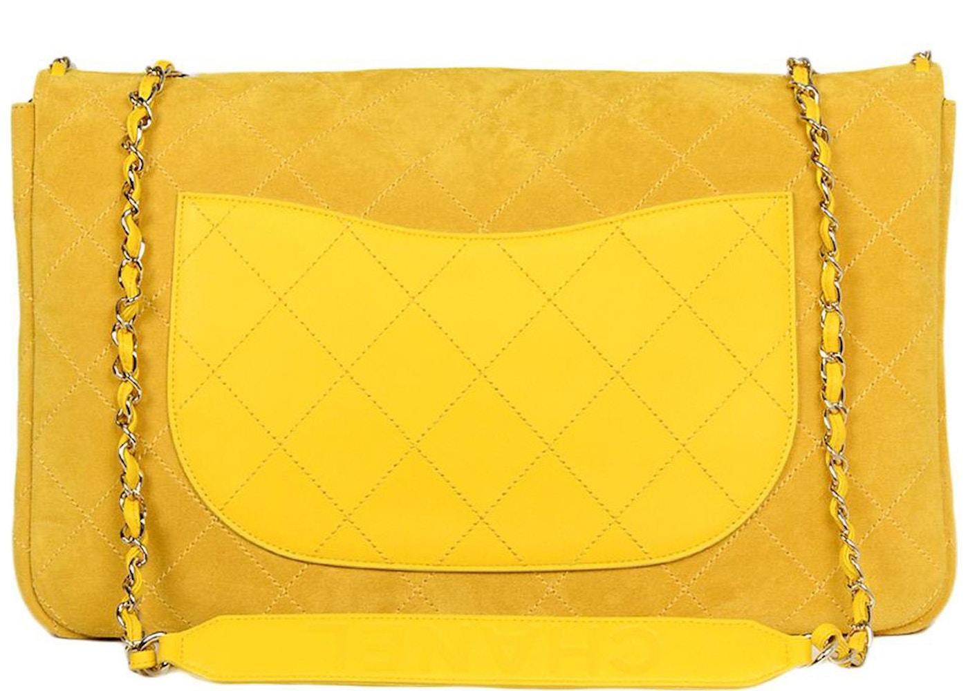 1ed7b1b8095add Chanel x Pharrell Flap Bag XXL Yellow
