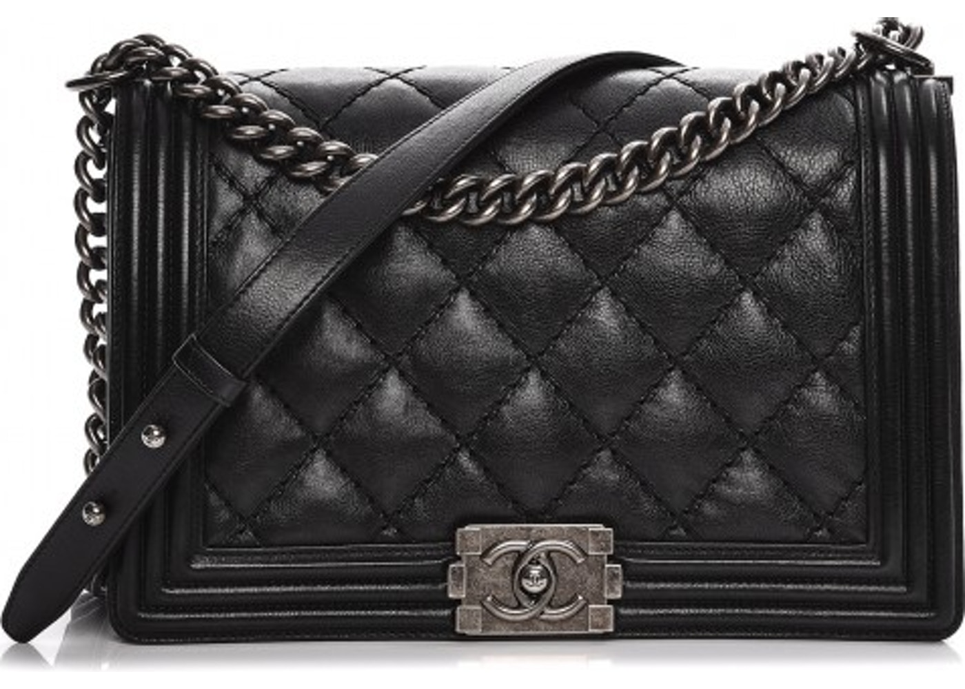 955750b230efef Chanel Boy Flap Quilted Double Stitched New Medium. Quilted Double Stitched  New Medium