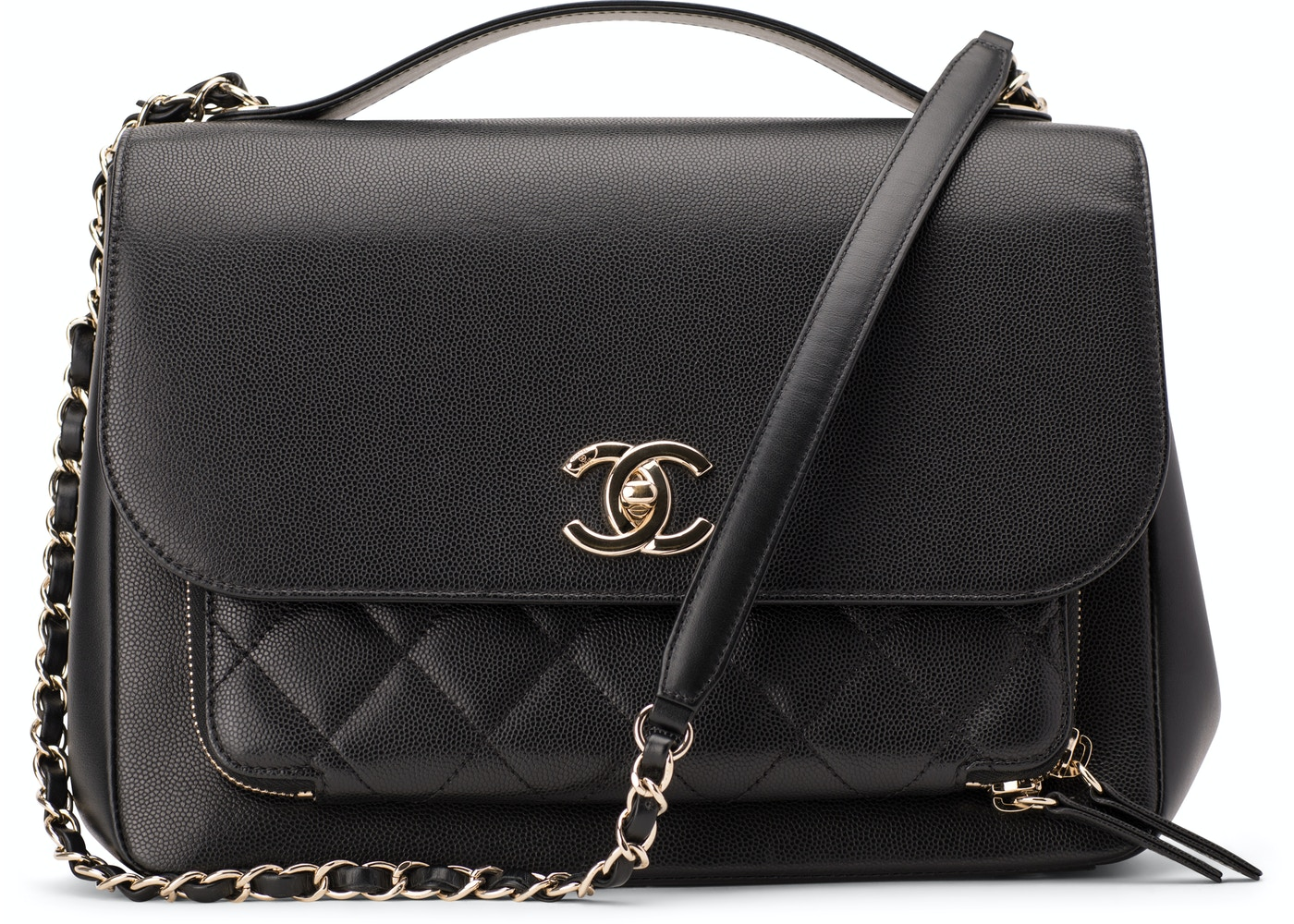 e3908ae0b9ae Chanel Business Affinity Quilted Large Black
