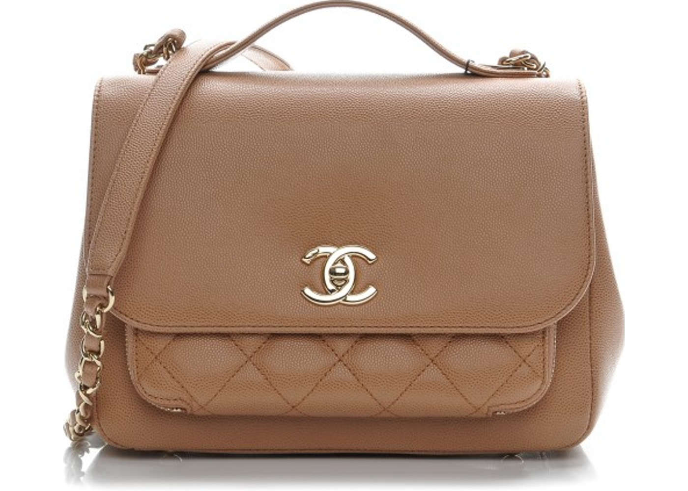 bf7d345c0e5e Chanel Business Affinity Flap Quilted Business Affinity Diamond Small ...