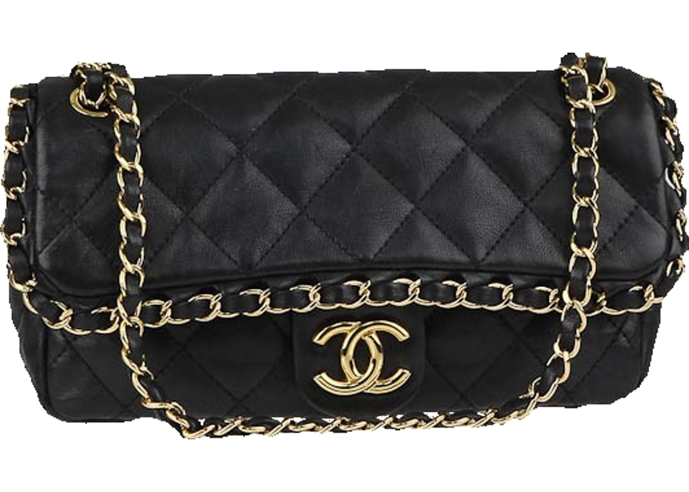 3d1ee57548c Sell. or Ask. View All Bids. Chanel Flap Chain Around Quilted Small Black