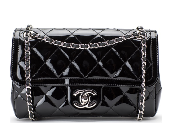 612ffbc29f1f13 Chanel Flap Coco Shine Quilted Small Black