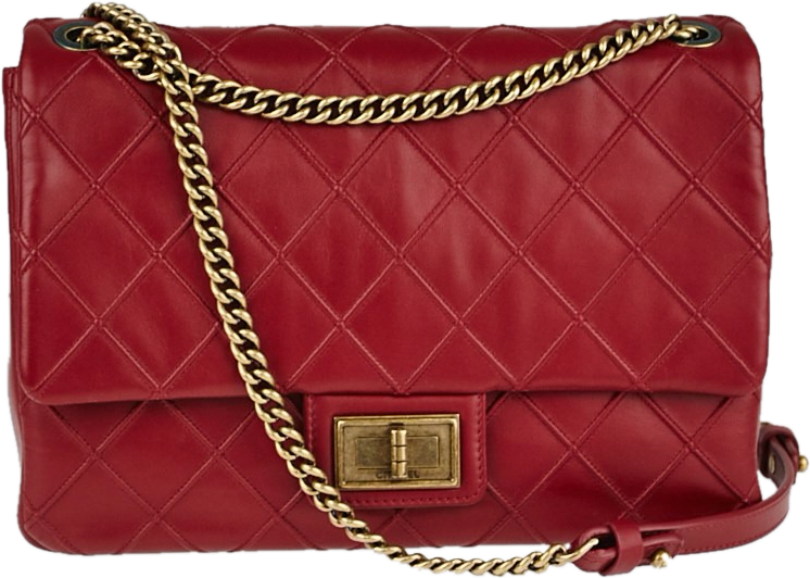 Flap Cosmos Quilted Jumbo Red