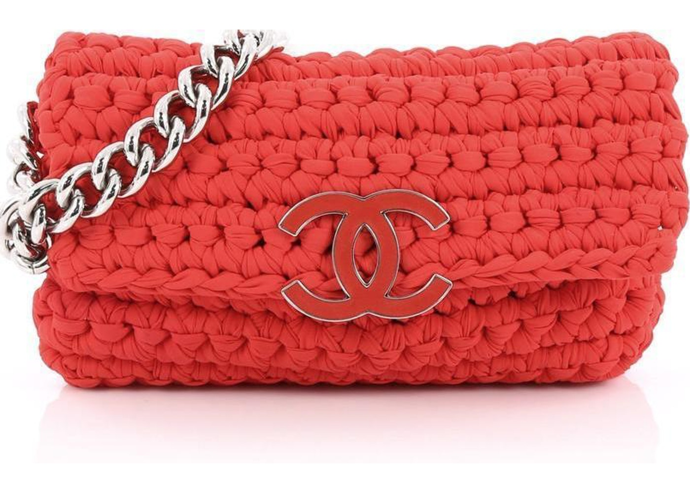 65d1d4bfad4 Sell. or Ask. View All Bids. Chanel Flap Brand Cruise 2014 Crochete Small Hot  Pink